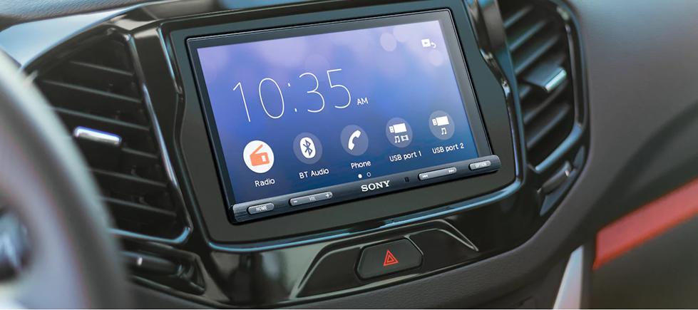 Sony Bezel-less capacitive touchscreen