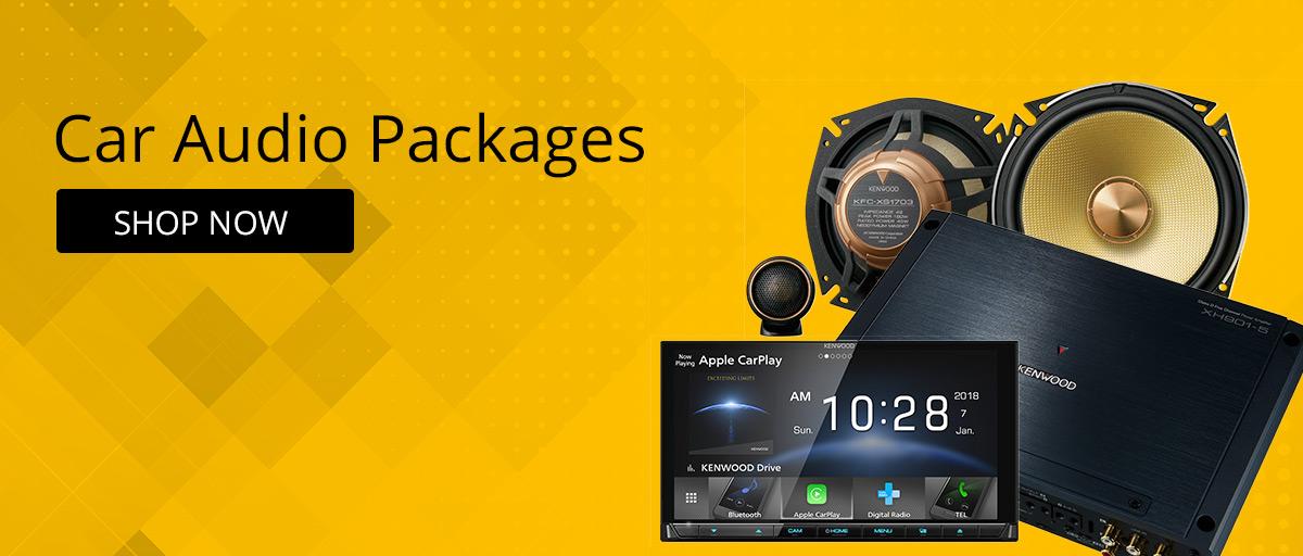 Car Audio Packages & Bundles