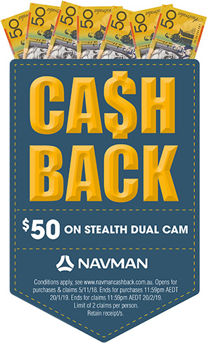 $50 cash back stealth duo