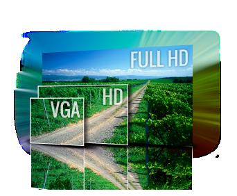 1080p@60fps cinematic video recording