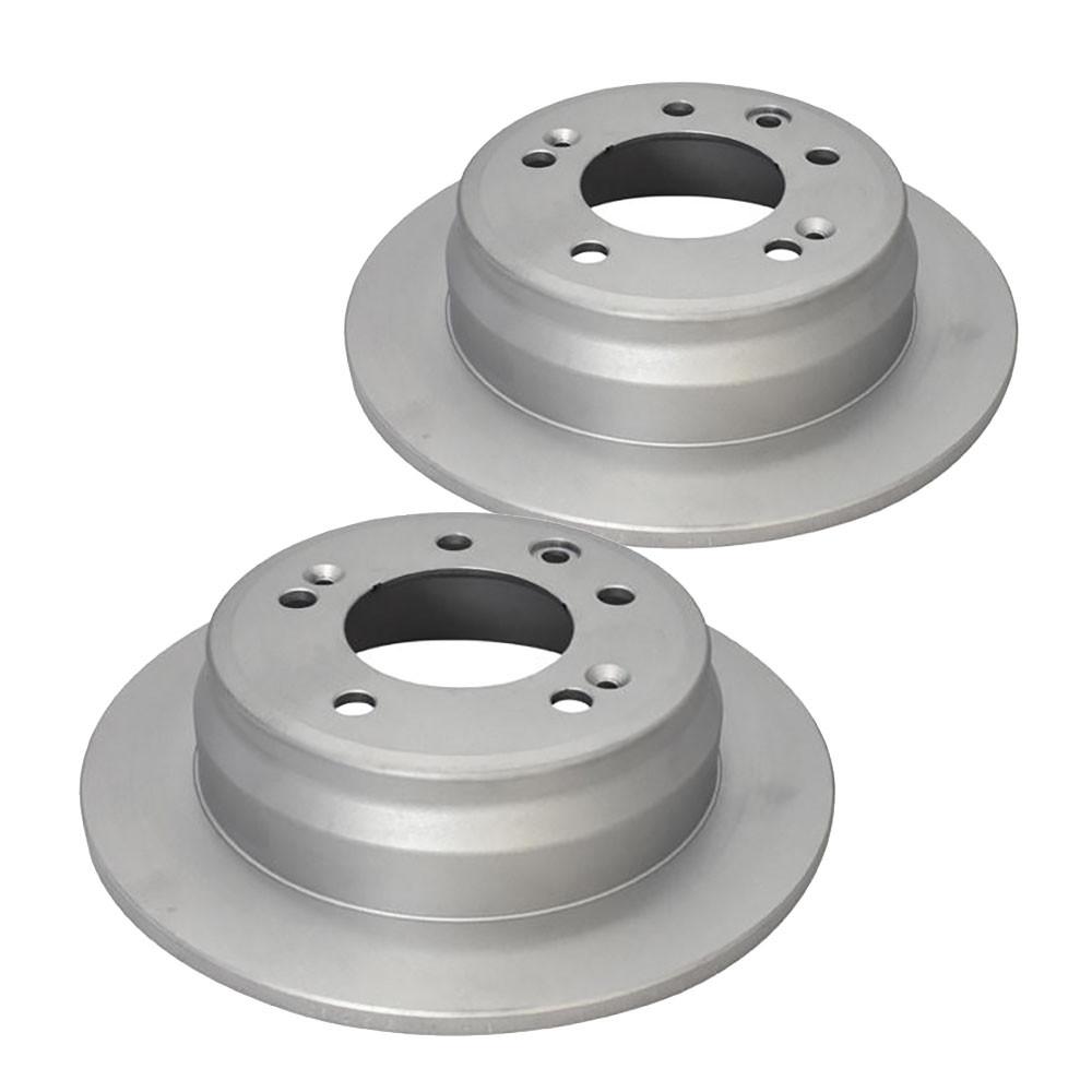 2 x DBA En-Shield Standard Rotor FOR KIA SPORTAGE SL DBA2459E