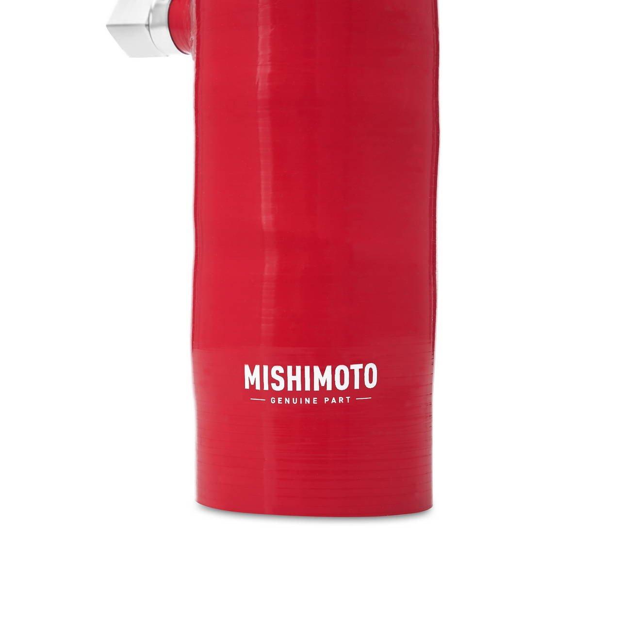 Mishimoto MMHOSE-350Z-03IHRD Nissan 350Z Air Intake Hose Kit 2003 2006 Red