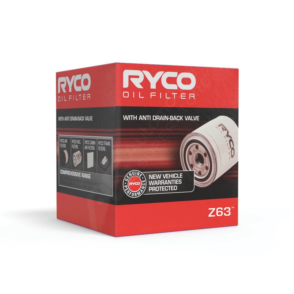 Ryco Oil Filter Z63