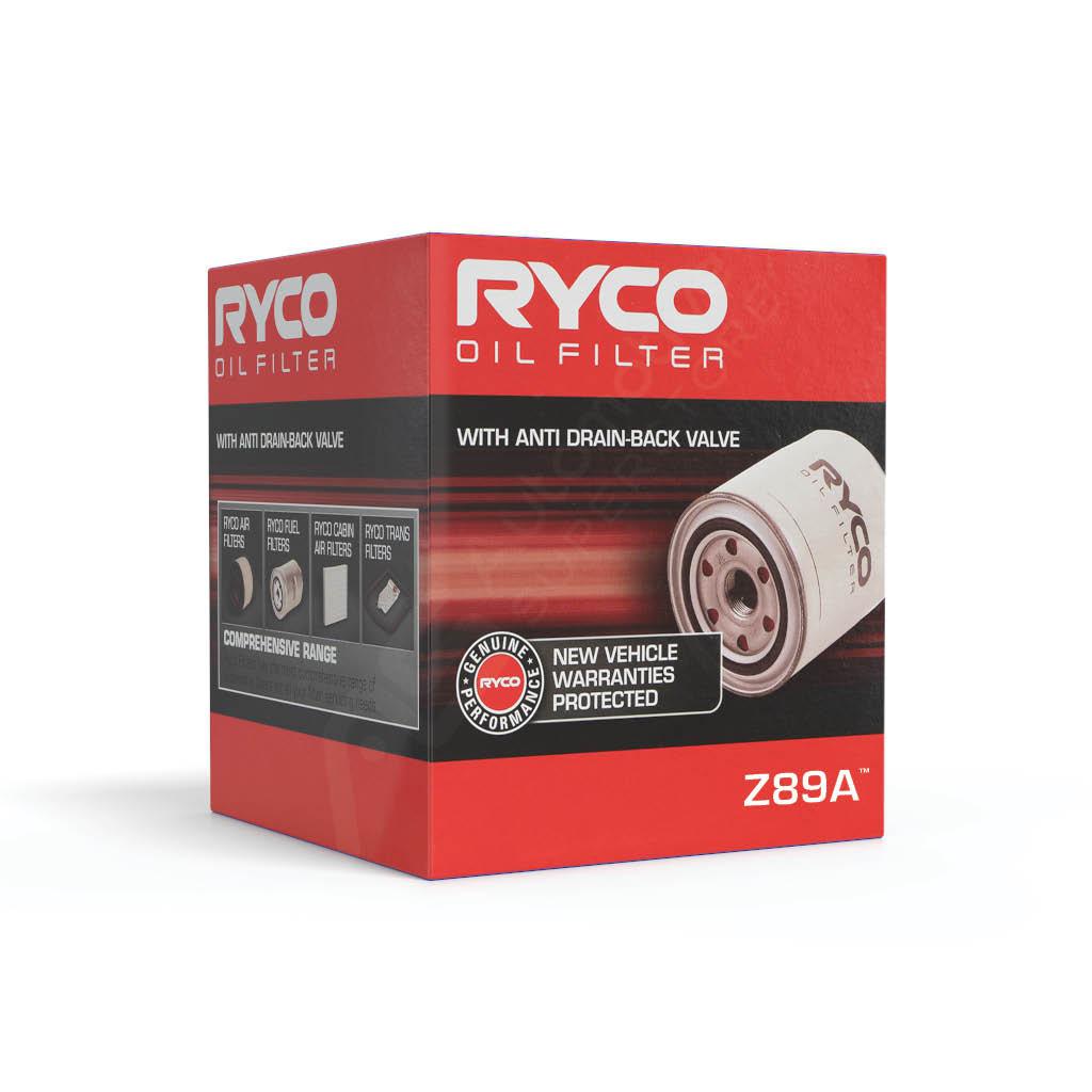 Z89A Ryco Oil Filter